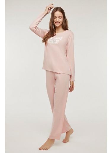 Penti Base Sunday Pijama Takımı Pembe